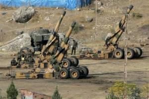 آتش توپخانه ترکیه علیه پیشروی کردهای سوریه