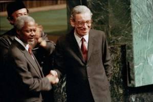 پطروس غالی؛ نخستین دبیرکل آفریقایی سازمان ملل