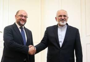 تاکید ظریف بر تداوم همکاری های پارلمانی بین ایران و اتحادیه اروپا