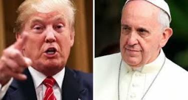 رای منفی پاپ به ترامپ