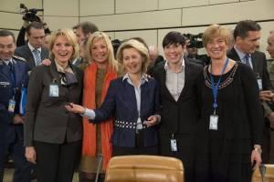 5 وزیر دفاع زن اروپایی در ناتو