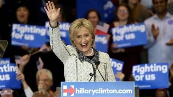 پیروزی کلینتون در انتخابات کارولینای جنوبی