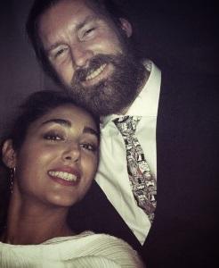 سلفی جدید گلشیفته فراهانی و همسرش کریس! + عکس