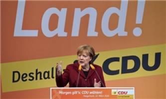شکست حزب مرکل در انتخابات منطقه ای آلمان
