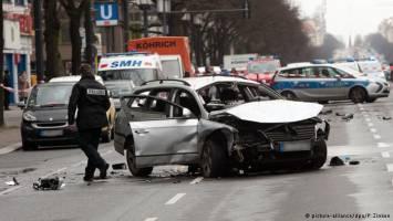 انفجار بمب در برلین یک کشته برجای گذاشت