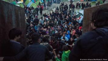 بازداشت صدها پناهجو در مقدونیه