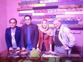 نشست ادبي دیدار و گفتگو با شيرزاد حسن در كافه كال سنندج