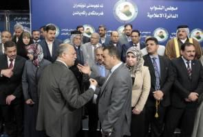 پارلمان عراق صحنۀ تنش بین گروه های مختلف