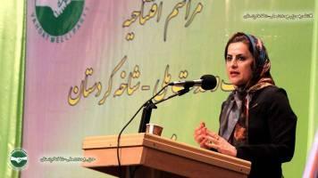 مراسم افتتاحيه حزب وحدت ملي شاخه كردستان