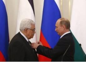 حضور محمود عباس در مسکو