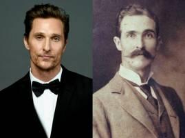 شباهت جالب ستاره هالیوود با مردی از 200 سال گذشته!