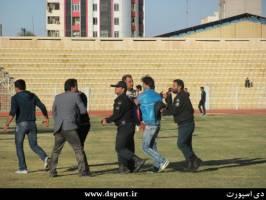 حمله چند هوادار اهوازی به دو بازیکن پرسپولیسی