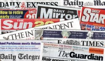 سرتیتر روزنامه ها و سایت های خبری بین المللی شنبه 23 آوریل