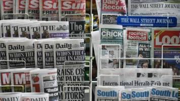سرتیتر روزنامه ها و سایت های خبری بین المللی دوشنبه 25 آوریل