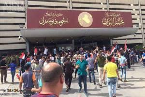 اشغال پارلمان عراق توسط طرفداران مقتدی صدر