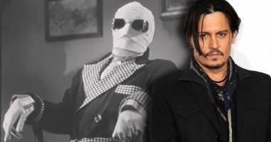 بازگشت «جانی دپ» مرد نامریی به سینما