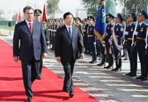 تاجیکستان در سودای افزایش همکاری های امنیتی با چین