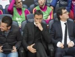 انریکه: بارسلونا شایسته قهرمانی در لالیگا است