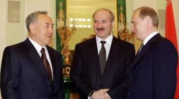 آغوش گشوده پوتین در انتظار نظربایف!