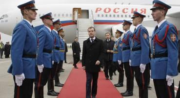 سفر نخست وزیر روسیه به صربستان