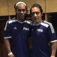 مهدویکیا و رونالدینیو، هم تیمیهای جدید