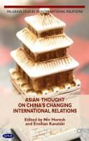 تفکر آسیایی درباره روابط بین الملل در حال تغییر چین