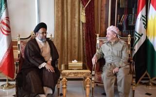 دیدار بی سابقه وزیر اطلاعات ایران با مسعود بارزانی در اربیل