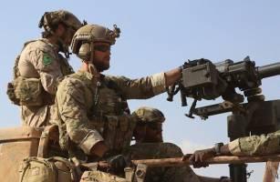 حضور سربازان آمریکایی در کنار کُردها و اعراب در جنگ رقه