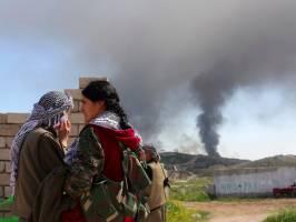 از تهدید پوتین تا پیشروی پیشمرگان کُرد واعراب علیه داعش