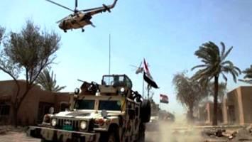 نیروهای ارتش عراق از سه محور وارد شهر فلوجه شدند