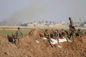 ادامه پیشروی کردها بسوی رقه و پیروزی ارتش سوریه در شرق دمشق