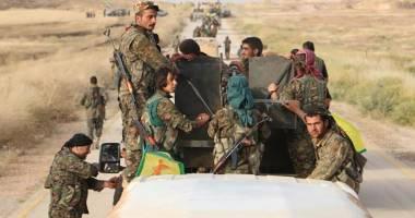 نبرد سربازان فرانسوی دوشادوش مبارزان کُرد و عرب در منبج