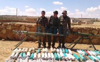محاصره پایگاههای مهم داعش در سوریه