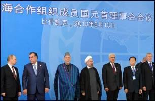 منافع ایران از حضور در سازمان شانگهای