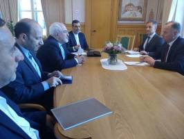 دیدار با کری و موگرینی در حاشیه رایزنی های دیپلماتیک در اسلو