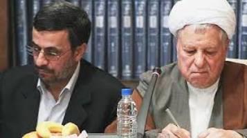 هاشمی رفسنجانی از احتمال بازگشت احمدی نژاد می گوید!