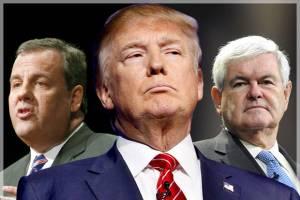 یک ترامپ و پنج نامزد!