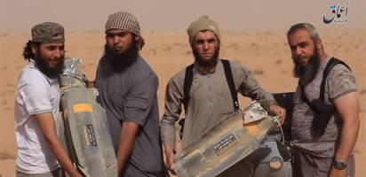 داعش هواپیمای بدون سرنشین آمریکا را ساقط کرد