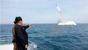 کره شمالی یک موشک بالستیک آزمایش کرد