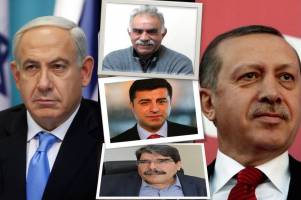 ترکیه -اسرائیل، آشتی با کارت کُردی