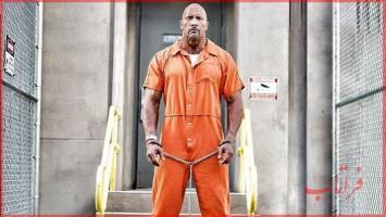 زندانی شدن «دواین جانسون»در «سریع و خشن 8»!