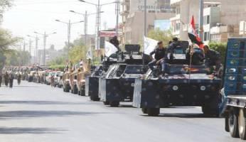 رژه ارتش عراق بعد از 13 سال