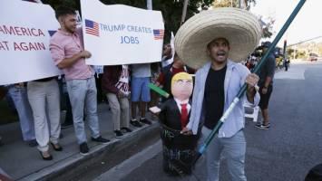 نگاه منفی 80 درصد اسپانیایی تبارها به ترامپ!