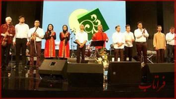نوازندگان موسیقی آذربایجان وارد ایران شدند