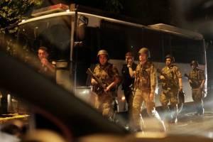گزارش تصویری از کودتا در ترکیه