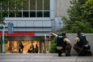 گزارش تصویری از حمله تروریستی در مونیخ آلمان