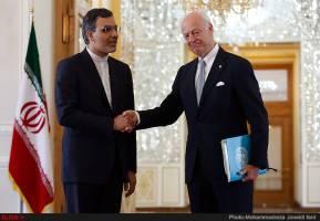 راهبرد ایران از ابتدای بحران سوریه تاکید بر راه حل سیاسی است
