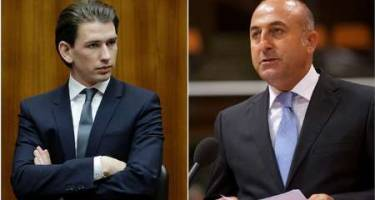 مشاجره توئیتری وزیران خارجه ترکیه و اتریش