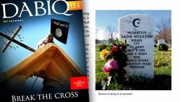 داعش: «همایون خان» مرتد بود