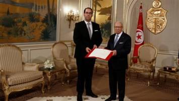 یوسف شاهد نخست وزیر تونس شد
